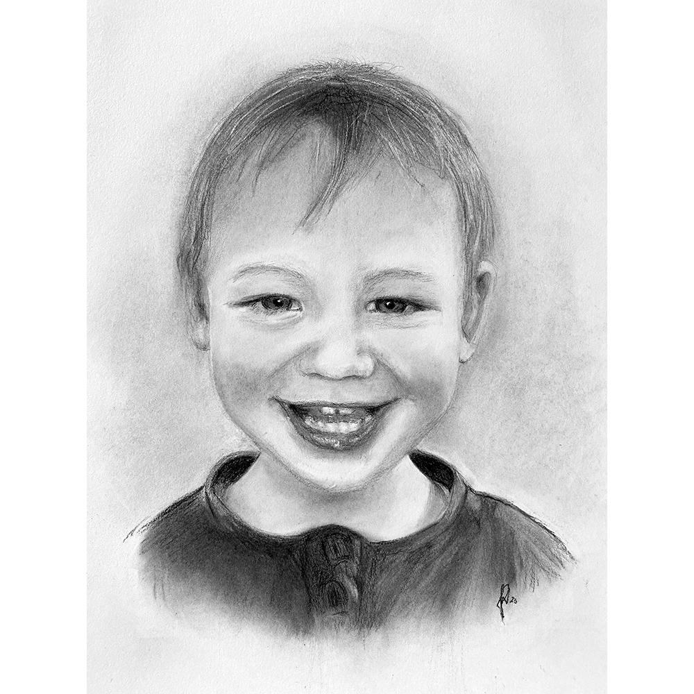 tegning_portraet-barn-boern-portraettegner_gaveide_bryllup