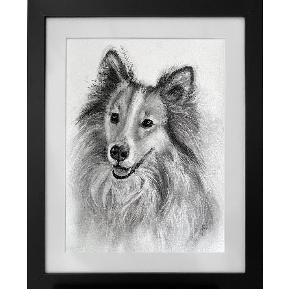 hundeportraet_tegning_hund_portraettegning_portraettegner_gaveide