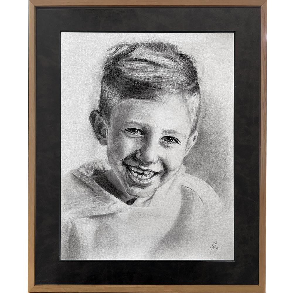 julegaveide_foraeldre_bedsteforaeldre_portraettegning_portraettegner_barn_boern