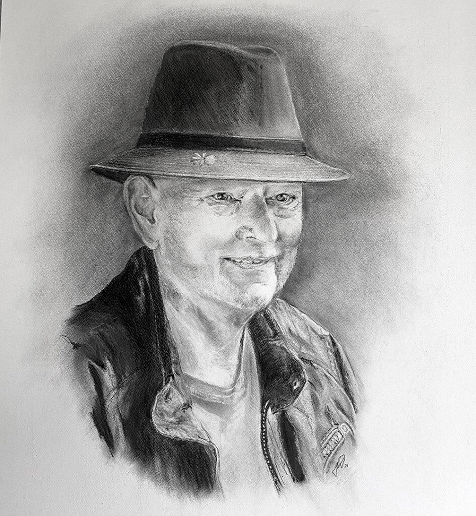 firma-portrættegning-blyantstegning-direktoer-portraettegner